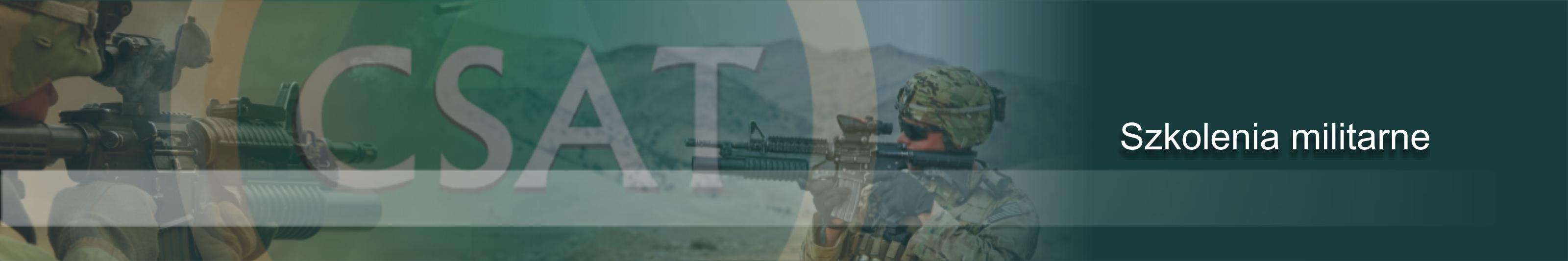 CSAT szkolenia militrane